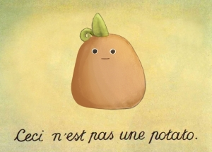 small french potato