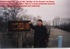 At DMZ Bridge Of No Return