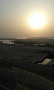 View from master bedroom in Mangrove Place.