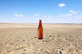 bottle-desert